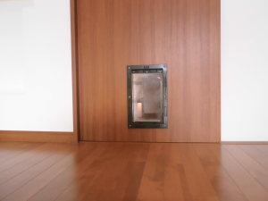 A様邸ペット用ドア