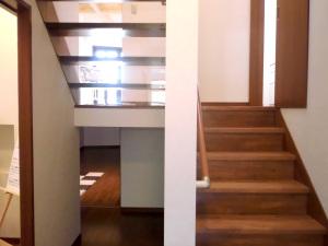 A様邸階段